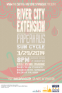 WRGW and Sixth and I Historic Synagogue Present: River City Extension, Paperhaus and Sun Cycle