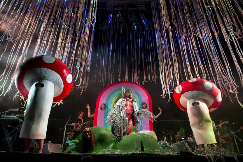 flaming lips dancing mushrooms